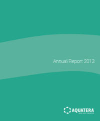 Aquatera 2013 Annual Report