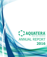 Aquatera 2016 Annual Report