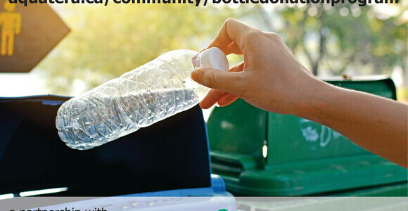 Aquatera Accepting Applications for Bottle Donation Program