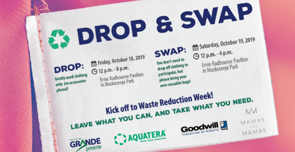 Community Invited to Clothing Drop n' Swap