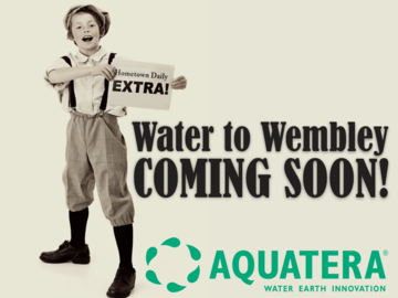 "Aquatera Celebrates ""Water to Wembley"" with Community Event"